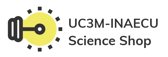 logo UC3M_INAECU Science Shop